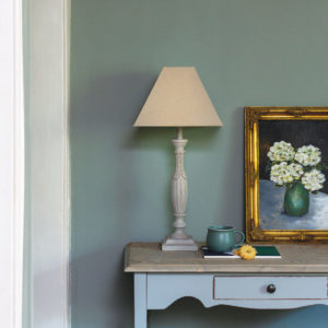 Table Lamp Angelique French Grey with Shade