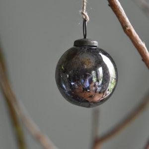 Vintage Round Decoration Antique Silver