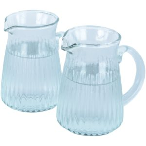 Ribbed Jug Medium 13x13x14cm