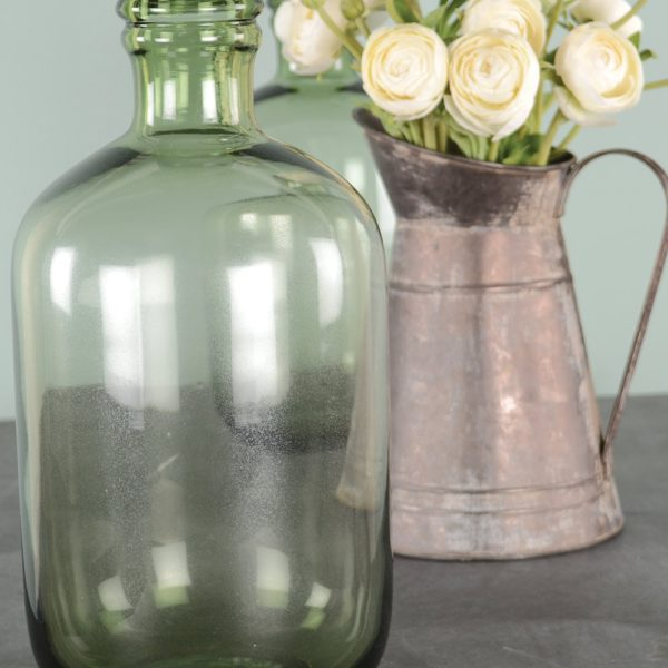 Glass Apothecary Bottle Green