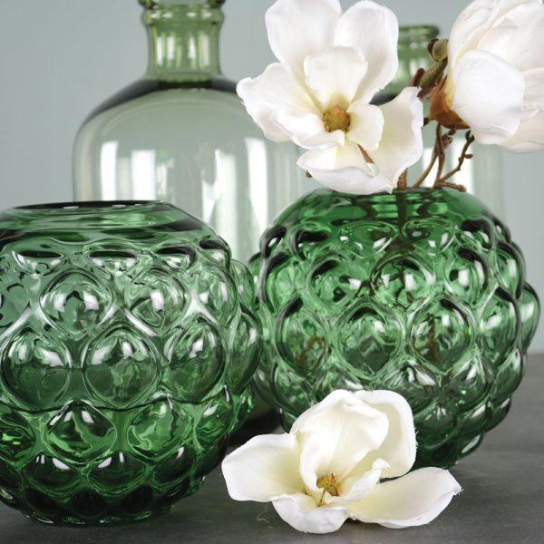 Glass Globe Vase Brassica