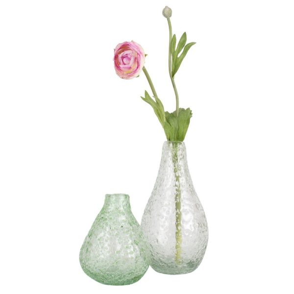 Recycled Glass Vase Lava