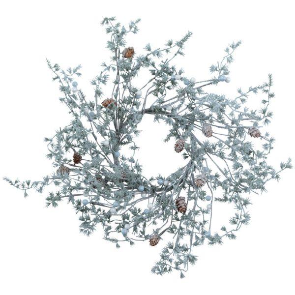 Winter Wonderland Wispy Wreath