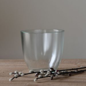 Simple Glass Pot Large 14.5cm