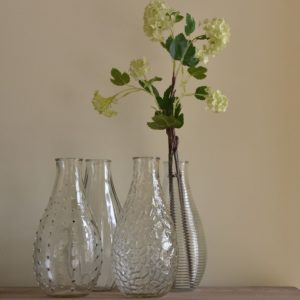 Bottle Vase 4 Assorted Designs Large 24cm