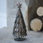 Christmas Tree Vintage Metal Large