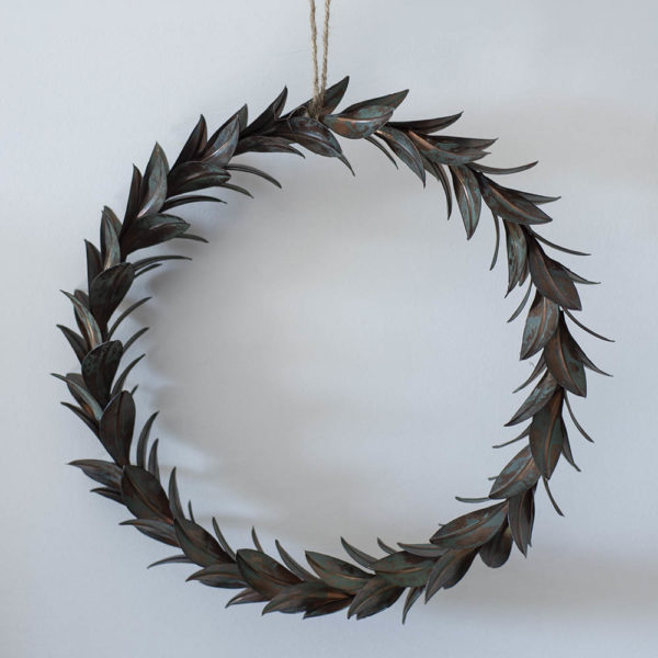 Wreath Of Leaves Vintage