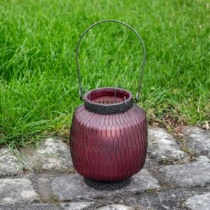 Honeycomb Lantern Amethyst
