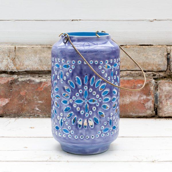 Moroccan Cut-Out Lantern Tourmaline