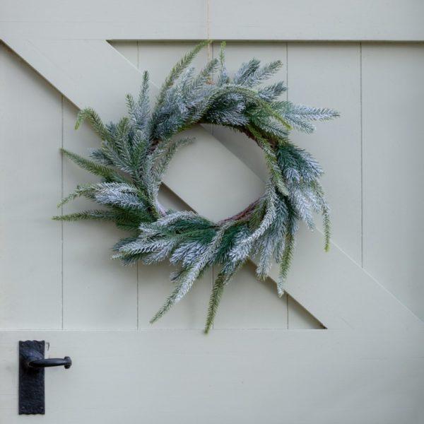 Frosted Fir Wreath