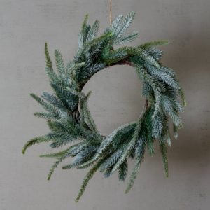 Frosted Fir Table Wreath
