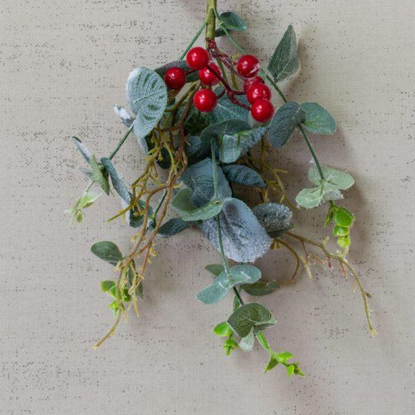Red Berry & Eucalyptus Sprig