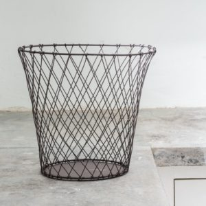 Simple Wire Waste Basket