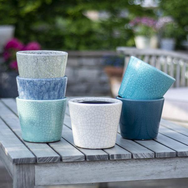 Old Style Dutch Pots Asst 6 Colours
