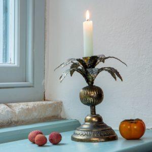 Candlestick Golden Palm