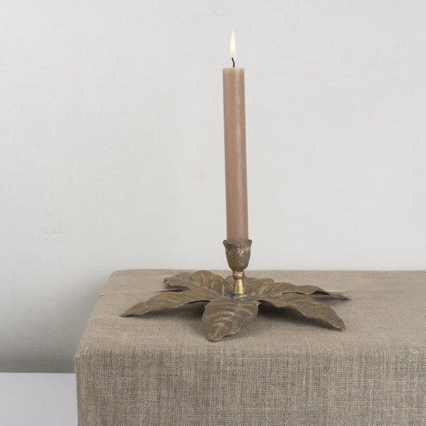 Candleholder Golden Palm