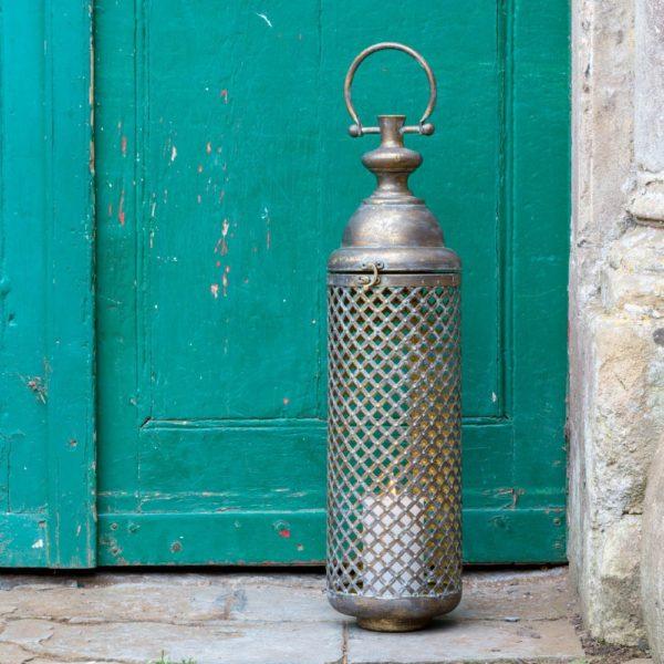 Vintage Lantern Golden Tower