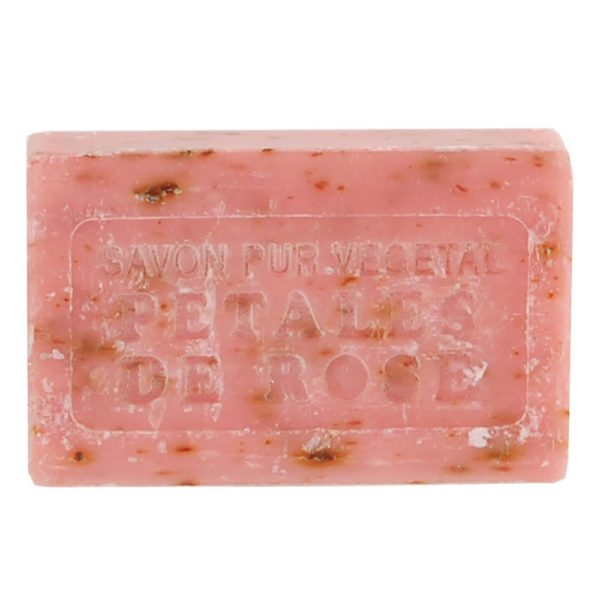 Marseilles Soap Petales De Rose Exfoliant 125g