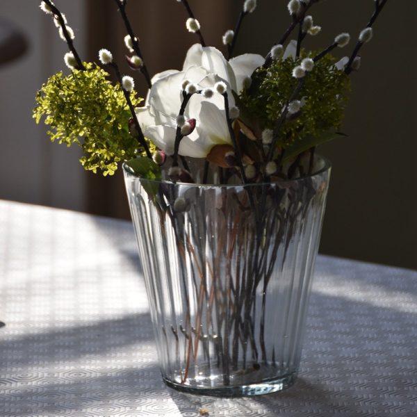 Glass Vase / Hurri Ribble