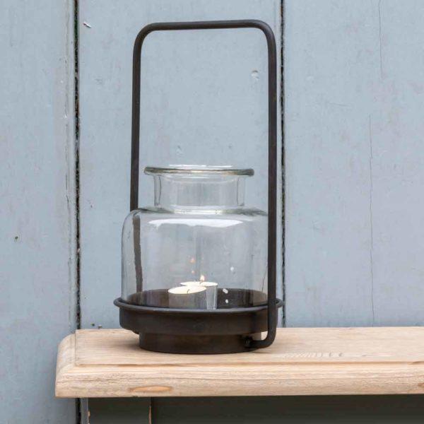 Belgo Jar With Handle Large