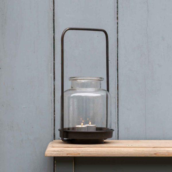 Belgo Jar With Handle Medium