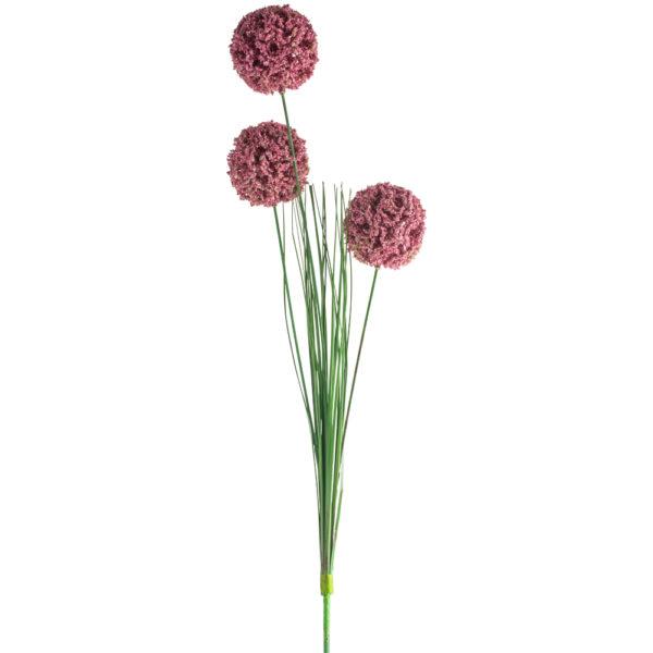 Allium Spray Dark Pink