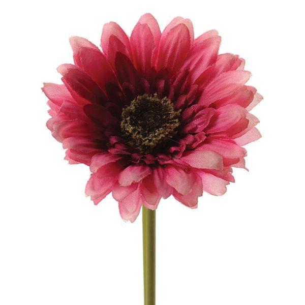 Gerbera Dark Pink h25cm