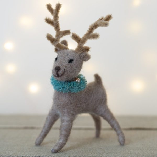 Ricky Reindeer Christmas Decoration