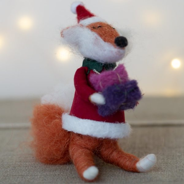 Freddie Fox Woolen Christmas Decoration