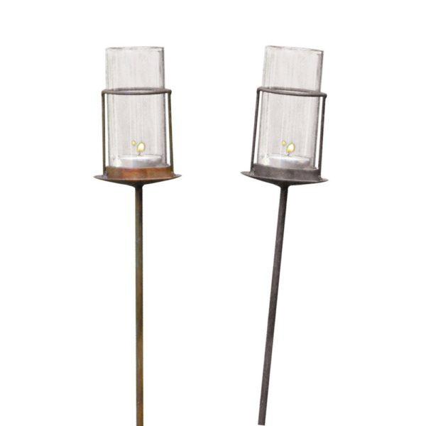Garden Light with Glass Tube
