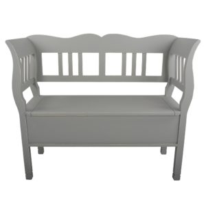 Two Seater Bench Campagne Shutter