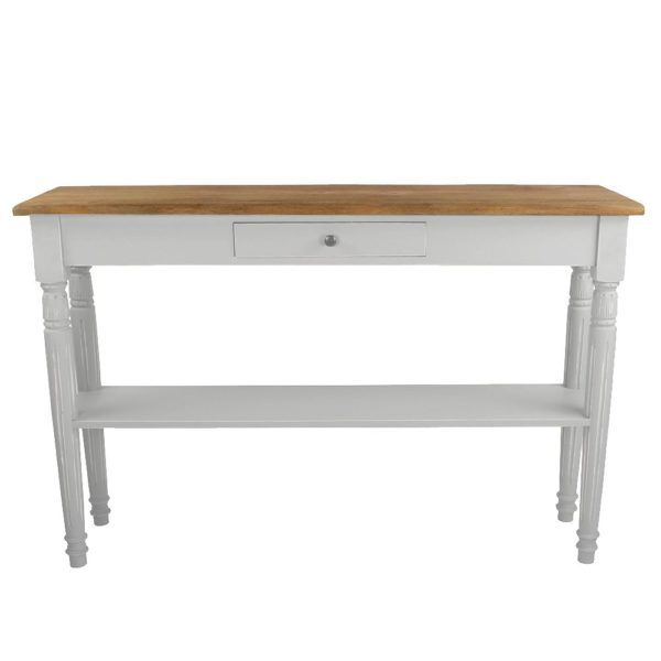 Oblong Side Table Picardie Sel de Mer
