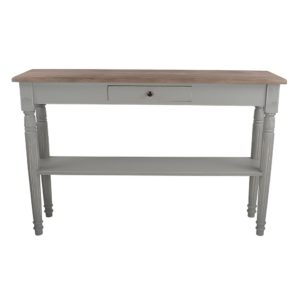 Oblong Side Table Picardie Shutter