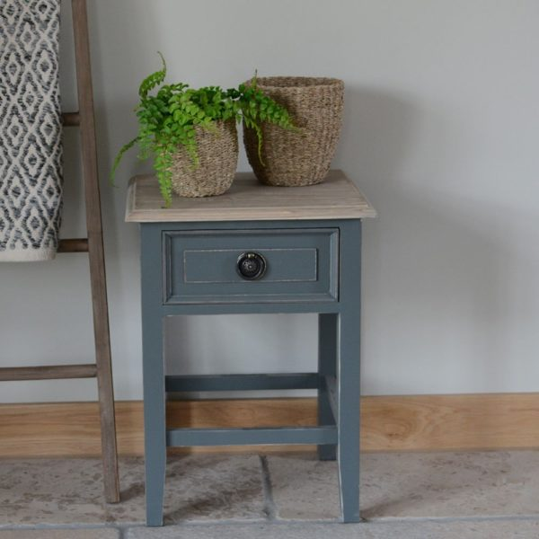 Bedside Table w/drawer Palladio Fossil