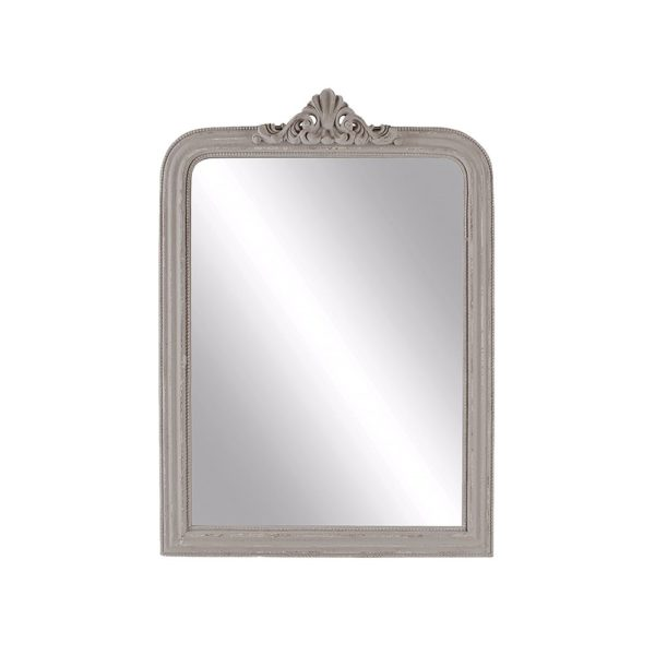 Louis XIV Mirror Antique Grey