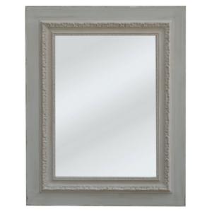 Stockholm Engraved Mirror Grey/Taupe