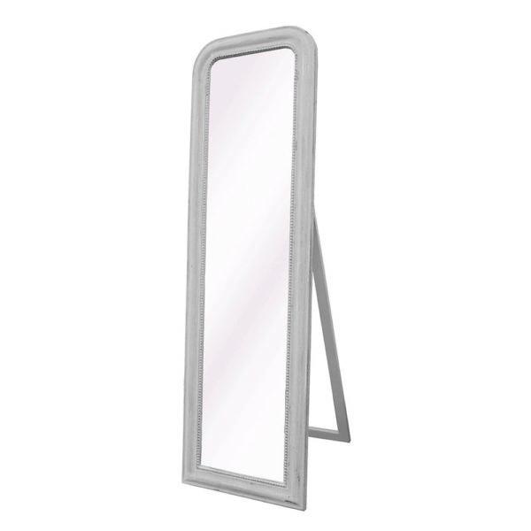 Vintage Floor-standing Mirror Soft Grey