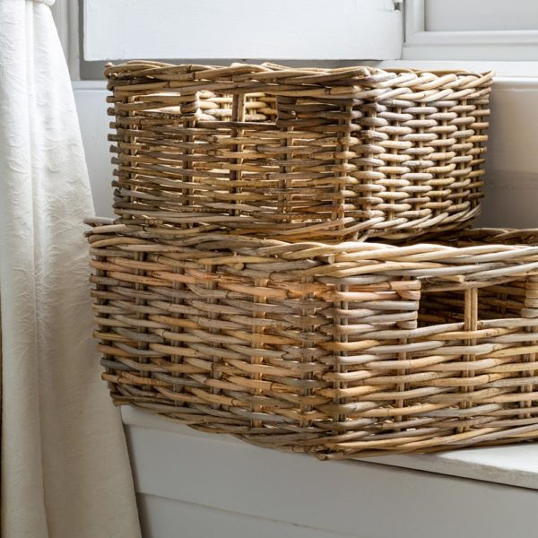 Kubu Oblong Basket Set of 2