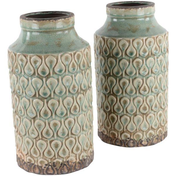 Tall Jar/Vase Crassula 17x30cm