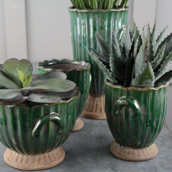 Ribbed Brassica Ceramic Range