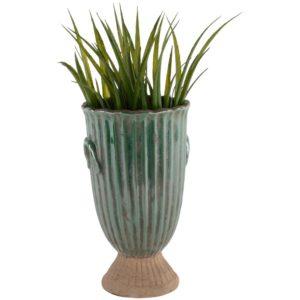 Tall Ribbed Vase Brassica 16x27cm