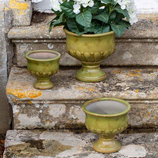 Ceramic Urn Verde