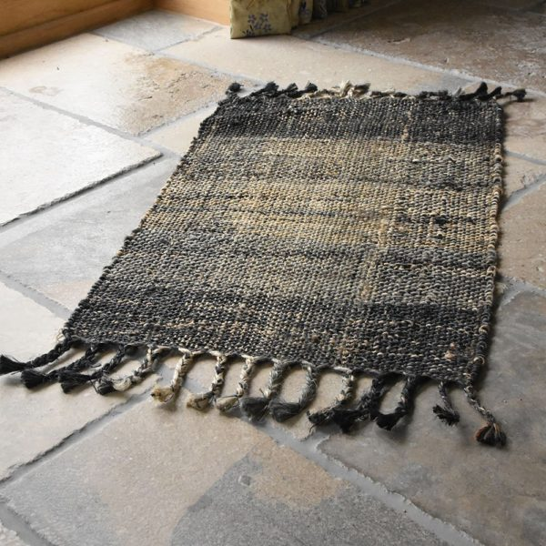 Sustainable Jute Rug Country Blues