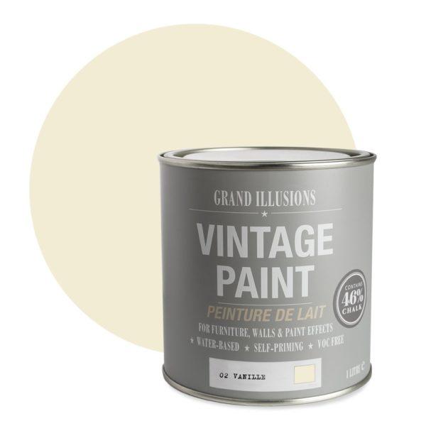 Vanille Vintage Chalk Paint No. 02 - 1L