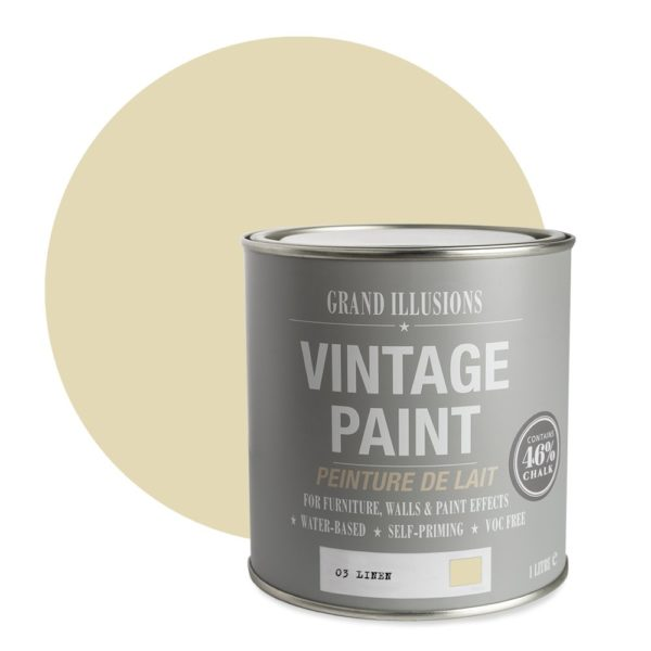 Linen Vintage Chalk Paint No. 03 - 1L