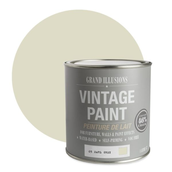 Earl Grey Vintage Chalk Paint No. 05 - 1L