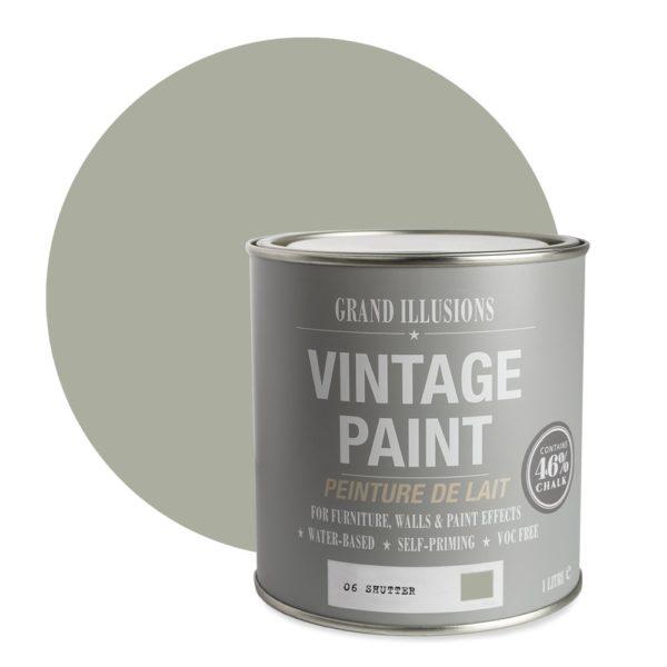 Shutter Vintage Chalk Paint No. 06