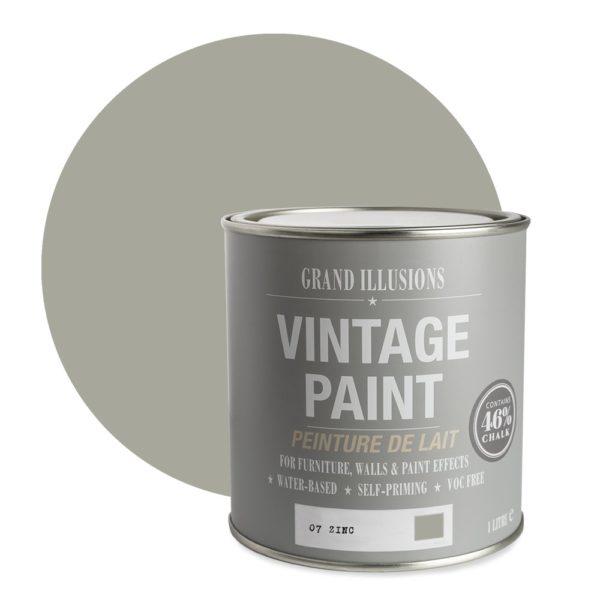 Zinc Vintage Chalk Paint No. 07 - 1L