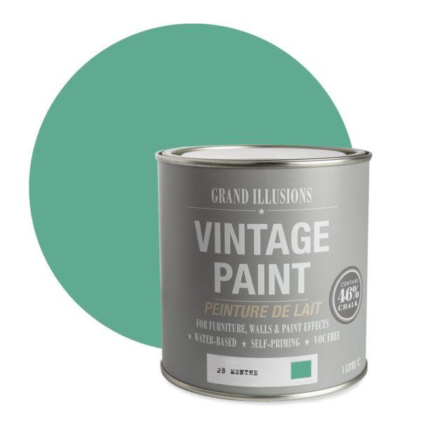 Menthe Vintage Chalk Paint No. 28