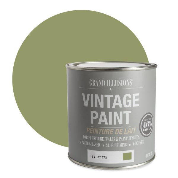 Olive Vintage Chalk Paint No. 31
